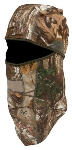 Scent-Lok Men's Velocity Headcover, Realtree Xtra, One Si...
