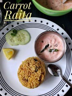 Carrot Raita Recipe - LathisKitchen