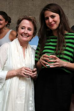 Chef Alice Waters and her daughter Fanny