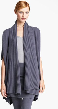 "Donna Karen Grey Collection - Draped Cashmere Cardigan Color: Geode Pre-Spring 2013, Olivia Pope, Scandal, Episode 220 ""A Woman Scorned"""