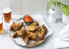 Grill N Chill, Tandoori Chicken, Barbecue, Foodies, Grilling, Meat, Ethnic Recipes, Crispy Baked Chicken Wings, Bon Appetit