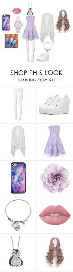 """""""What I'd wear of I was more feminine....."""" by aki-kagamine on Polyvore featuring Comme des Garçons, Zadig & Voltaire, Jane Norman, BlissfulCASE, Cara, Disney, Lime Crime, Artistique and Juicy Couture"""