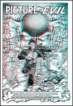 3-D Comic Books - 3dfilmarchive Foto 3d, 3d Pictures, Glitch, Red And Blue, 3 D, Spiderman, Comic Books, Superhero, Comics