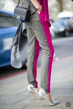 El rosa gold y el plata son los colores metálicos que más se verán en zapatos esta temporada. #Cool