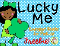 Our St. Patrick's Day~ Lucky Me Emergent Reader is a fun mini-book with easy text. Your students will love to read, trace, and color while celebrating St. Patrick's Day!!!A few ideas on using our Mini-Book:*small groups*whole group*partner work*stations*clap syllables of the tracing words*abc order with the tracing wordsThanks so much for stopping by...we SO appreciate your support and feedback!!!Happy St.