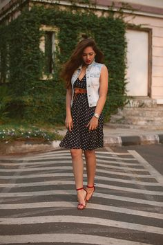 |Dress| Veromoda| Denim| Vest| Shoes| Steve Madden| Watch| Guess| Belt| New Look| On my lips| Ririwoo by Mac| Accessories| Daily Feature| Fashion| Blogger| Hair| Vintage| Makeup| Vintage| Vibes|