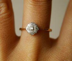 vintage ring...adorable!