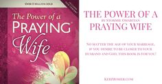 The Power of a Praying Wife, by Stormie Omartian is a must read for anyone striving to be a godly woman! This book changed my marriage and relationship with the Lord, for the better. Five years ago…