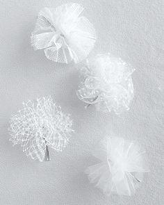 Tulle or Net Pom-Poms - Martha Stewart Weddings Inspiration