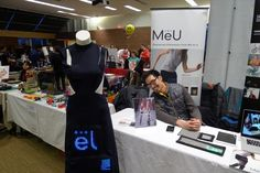 MeU, the wearable display technology that combines app technology with wearable LED lights in order to create a new means of broadcasting information to the world.