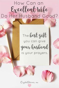 Proverbs says an excellent wife does her husband good. Discover the best gift you can give your husband and become a Proverbs 31 wife who does her husband good. Intimate Marriage, Fierce Marriage, Marriage Is Hard, Marriage Prayer, Marriage Help, Marriage Relationship, Relationships, Christian Marriage Quotes, Christian Couples