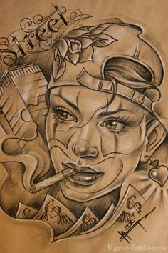 155 Chicano Tattoos - Photos, Designs for men and women Chicano Tattoos, Chicano Style Tattoo, Chicano Drawings, Body Art Tattoos, Tattoo Drawings, Art Drawings, Prison Drawings, Female Tattoos, 4 Tattoo