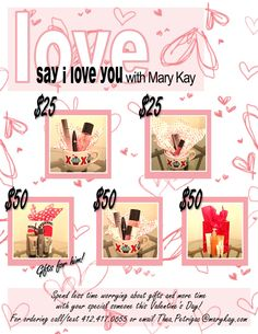 Spend less time worrying about gifts and more time with the one you love! Order your special someone a gift-wrapped set from Mary Kay! Includes candy and chocolate -- you just choose the price that's right for you! Visit www.MaryKay.com/Thea.Petrigac for even more products and gift ideas!