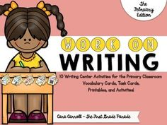 """Hello friends! If you're anything like me, you are constantly trying to improve your writing station. Searching for new ideas, scrambling to get things prepped and ready, wishing you had """"just one more thing"""" to keep your kids excited about writing and engaged in the process."""