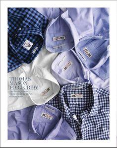 Button-Down Laydowns Chambray #menswear #shirting