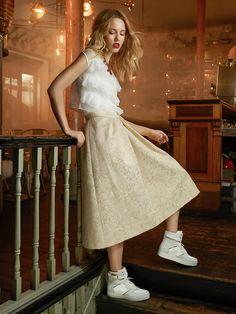 Outono Inverno 15/16 White Dress, Shoes, Dresses, Fashion, Fall Winter, Vestidos, Moda, Zapatos, Shoes Outlet