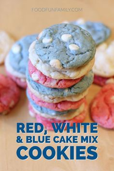 Red white and blue c