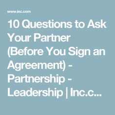 Five Clauses Every Partnership Agreement Needs  Business And