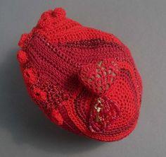 """""""Heartrock Hotel"""" - I am busy covering my world in crochet by Gwen Blakley Kinsler"""