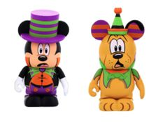 New 2014 Halloween Mickey and Pluto Vinylmations to Debut August 15