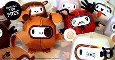 http://www.paper-toy.fr/2012/10/20/paper-toys-signes-chinois-by-tpf-x-12/