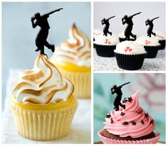 Ca039 New Arrival 10 pcs/ Decorations Cupcake Topper by Sixday7Day
