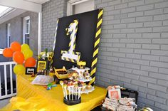 Construction Birthday Party Ideas | Photo 4 of 65 | Catch My Party