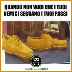 Seguici su youtube/bastardidentro #bastardidentro #perfettamentebastardidentro #scarpe #camminare www.bastardidentro.it