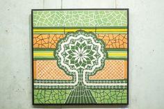 Mosaic - ceramic tiles Tiles, Mosaic, Crown, Ceramics, Lace, House, Wall Tiles, Ceramica, Corona