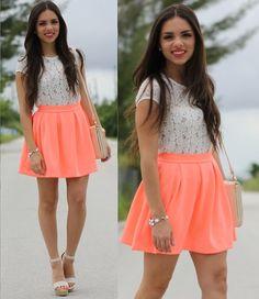 Colores fluo! 100% moda de verano