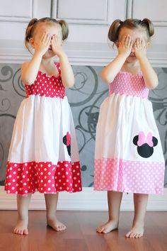This dress screams Aurora! Pillowcase Dress Pattern, Cute Dresses, Summer Dresses, Minnie Mouse Party, Girls Boutique, Shirtdress, Grandkids, 2nd Birthday, Cool Kids