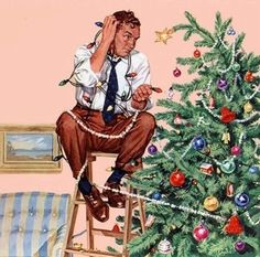 ~ Norman Rockwell ~ Christmas                                                                                                                                                                                 More