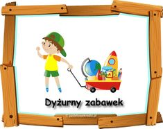 Dyżurny w przedszkolu - materiały do pobrania - Pastelowe Kredki Kids And Parenting, Toy Chest, Storage Chest, Projects To Try, Education, Toys, Home Decor, Activity Toys, Decoration Home