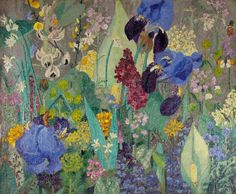 View Spring flowers by Sir Cedric Lockwood Morris on artnet. Browse upcoming and past auction lots by Sir Cedric Lockwood Morris. Art And Illustration, Art Floral, Morris, Botanical Art, Spring Flowers, Garden Art, Painting & Drawing, Flower Art, Watercolor Art