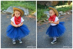 Day 1 – Little Cowgirl DIY Halloween Costume Tutorial Cheap and Easy!
