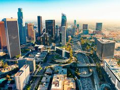 Los Angeles, on the