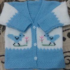 """214 Beğenme, 2 Yorum - Instagram'da @elisi.bohcasi: """"Bebek yelek hırka takımı sipariş alınır. Istenilen renkte örülür. #elişi #elemeği #bebek #baby…"""" Baby Knitting Patterns, Baby Patterns, Tunisian Crochet, Knit Crochet, Baby Booties Free Pattern, Dream Baby, Crochet Baby Clothes, Baby Warmer, Little Girls"""