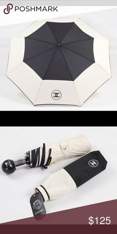 HOT! Auth Chanel Umbrella ☔️Fast Selling⚡️ ⚡️Last one! Beautiful umbrella, brand new VIP ITEM! Standard compact size. Look chic even in the rain. No offers or trade. Great price ❤️ fast selling item, don't miss out! Sells out quickly! Opens with the touch of a Chanel button! Brand new sealed. Never to early to start thinking about Christmas shopping  CHANEL Accessories Umbrellas