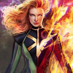 The White Hot Room : Jean Grey costume designs created by the talented. Marvel E Dc, Marvel Comics Art, Marvel Women, Marvel Girls, Marvel Heroes, Captain Marvel, Jean Grey Phoenix, Dark Phoenix, Phoenix Force
