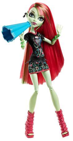 Amazon.com: Monster High Ghoul Spirit Venus McFlytrap Doll: Toys & Games