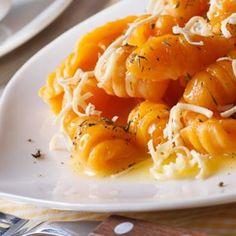 Gnocchis de potiron à la muscade, parmesan et origan