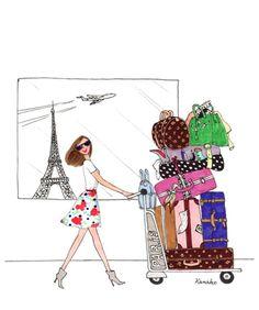 Bonjour Paris! Je suis arrivée!