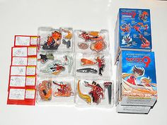 Kaiyodo The Cyborg Soldier 009 figure Vignette Candy Box (full set of 6 figures)