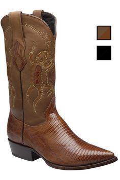 Cuadra Herren Western- Cowboystiefel (Echsenleder) B2LZTJ Lederwaren Herren Stiefel