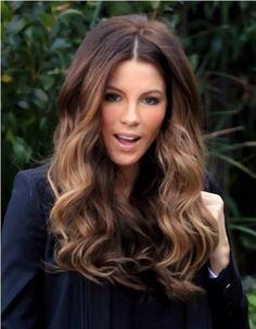 That hair..long ombre beach hair