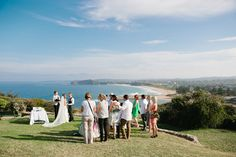 Amazing Mona Vale headland wedding ceremony - Sydney Northern Beaches wedding