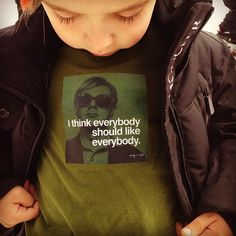 i think everybody should like everybody. #andywarhol #alonsomateo - @luisafere- #webstagram