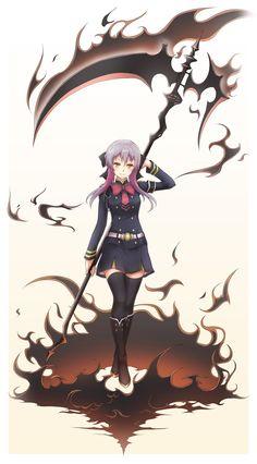 Hiiragi Shinoa | owari no seraph (Seraph of the End)
