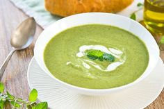 Welcome to my latest recipe and we are making a delicious Greek eat your greens Slimming World Speed Soup In the Soup Maker.