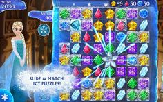 Frozen Free Fall 2.2.1 Apk is free to play but some in-game items may require payment.